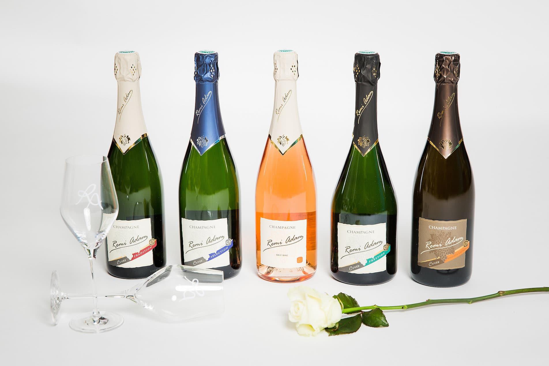 Le champagne Rémi-Adam, la passion du vin